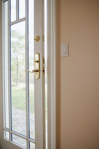 Part of properly insulating your home is to check for gaps in doors.