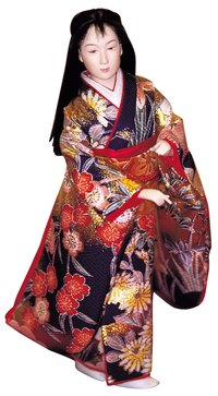 Make a hanfu dress that's rich in color and history.