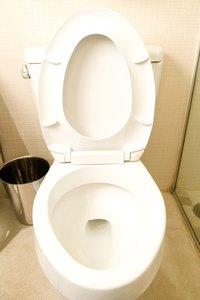 Keep your toilet sparkling with the help of an acid-based cleaner.