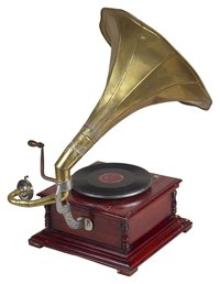 The gramophone is also known as the phonograph.