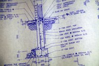 Section drawings help describe construction assembly.
