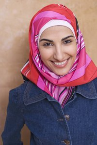 Make your own hijabs for style and fun.