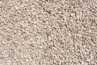 Gravel is one type of rock used to create residential driveways.