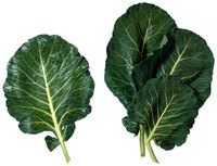 Cook collard greens only until they wilt and become sweet.