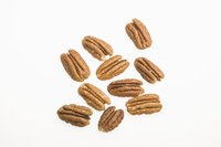 Shelled pecans can be toasted whole or when chopped.