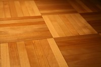 Parquet flooring is timeless and classic.