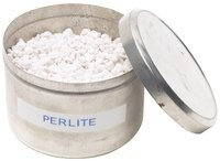 Perlite in potting soil improves drainage.