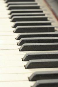 Ebony wood is well-known for it use in piano keys.