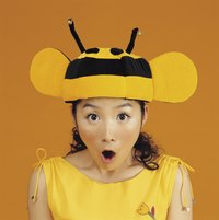 A bee T-shirt can complete a bee costume.