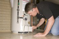 Repairing low hot water pressure may require a thorough inspection of your water heater.