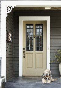Let your front porch create a welcome for your guests.