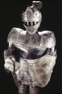 Duct tape can help you recreate a knight's suit of armor easily and inexpensively.
