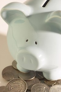 Repaint a dull white piggy bank bright pink.