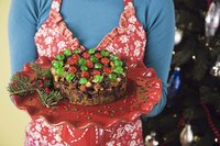 A well-soaked fruitcake can keep for years.