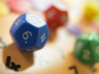 12-sided dice are great for educational math games.
