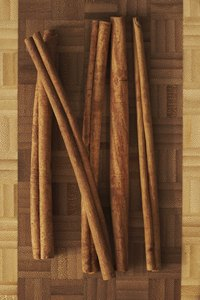Some types of cinnamon come from cassia bark.
