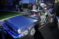 DeLoreans were manufactured by the DeLorean Motor Company.