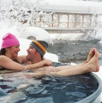 Hot tubs are a popular way to socialize and relieve stress..