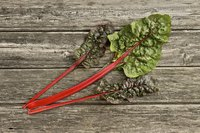 Swiss chard is high in Vitamin K, copper and potassium.