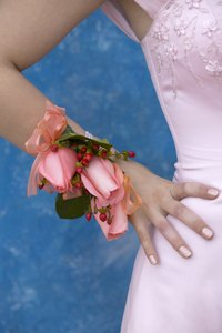 Even a beginner can make a corsage for a special occasion.