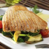 The skate wing's long strands of flavorful muscle give it a distinctive appearance.