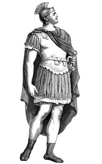 The traditional Roman gladiator had style.