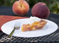 Peaches offer a naturally sweet filling for pie.