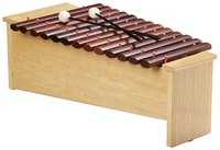 Try a variety of mallets to discover new sounds.