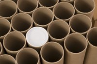Cardboard tubes are cheap, versatile and durable.