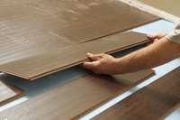 The procedure for removing a laminate floor is the reverse of that for installing it.