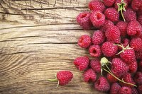 Raspberries' seedy pulp and hollow cores make them tricky to dry whole.