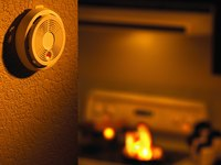 Install fire alarms in key rooms on every level of your home.