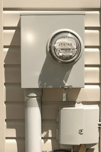 The black tag on your electric meter is not to be removed or tampered with.