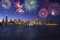 Many countries use fireworks to celebrate special holidays.