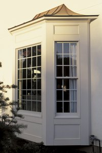 Leaks and damaged wood are common issues with bay windows