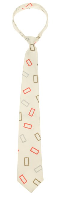 Turn a gaudy old tie into a work of artistic expression.