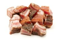 Freeze chunks of extra hog jowl meat to use in soups, vegetable dishes or Italian recipes.