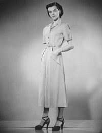 Take advantage of 1950s-style dress patterns in creating your costume.