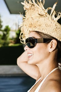 Make your own straw hat.