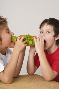Submarine sandwiches are a favorite of kids and teenagers.