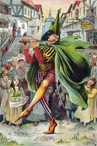 The Pied Piper is a perennial favorite for a Halloween costume.