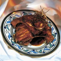 Lamb chops develop an earthy succulence when cooked in a terracotta Tuscan oven.