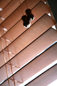 The slat size on blinds is also called the vane size.