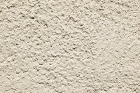 Stucco walls are a common feature of residential buildings.