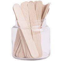 Popsicle sticks can be used in a variety of craft projects.