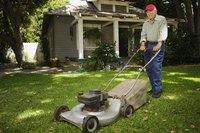 Lawn ruts are especially dangerous when you mow because your mower may flip on them.