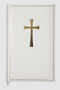 A framed cross makes a simple, but evocative, statement on any wall.