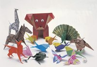 Origami figures tend to resemble animals.
