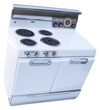 Electric stoves need a lot of electricity to cook your food.