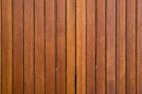 Real wood paneling is a viable option for the basement.